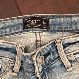 Abercrombie & Fitch Jeans - AF Harper super skinny jeans 00 R / 24